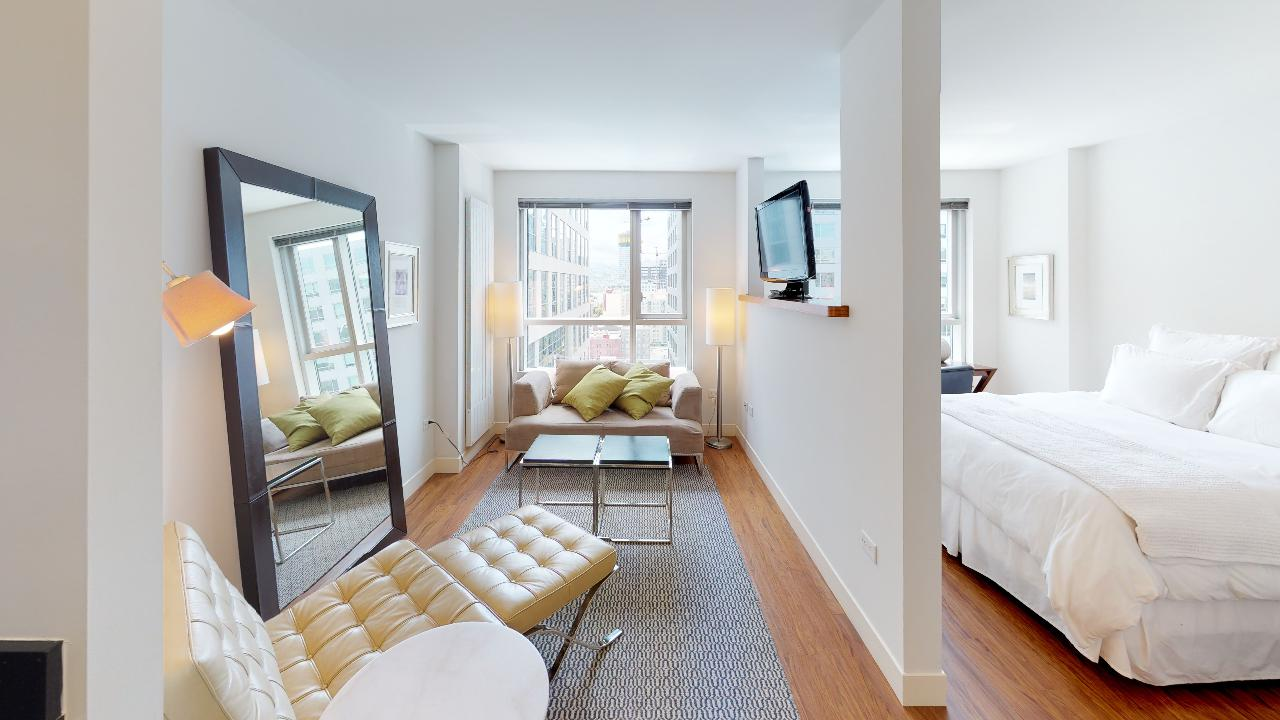 Furnished Jr. 1 Bed, 1 Bath at 1188 Mission at Trinity Place
